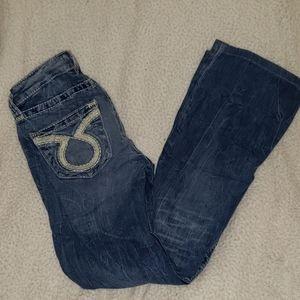 Big star light wash jeans